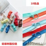 Zipper by the Yard|Half size|Candy tone colour|10 colours #3 zipper/puller