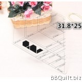 Diamond Shaped Ruler|Patchwork Ruler/Template