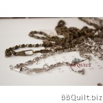 Purse Chain ROPE CHAIN Antique Bronze & Silver 2 sizes