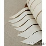 DIY Label Blank Cotton Label Ivory Plain Cotton Ribbon